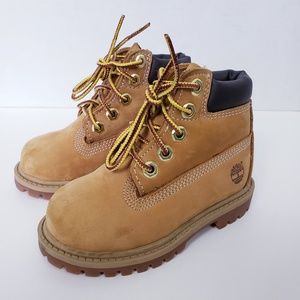 Timberland Toddler Wheat Boots Size 6